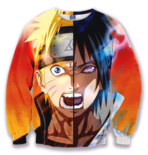 autumn new Anime 3D Sweatshirts high quality Hoodies  Naruto Japan ClassicAnime Movie printing pullover Hip Hop free shipping
