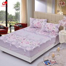 Fitted bed cover mattress cover angel heart elastic bed cover cushion cloth fitted sheet bedspraeds pillowcase fitted 3pcs/set