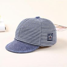 2017 Fashion Cotton Peaked Caps For Girls Baby Boys Newborn Baby Photogrephy Baseball Caps For Spring Summer Sun Hat(China)