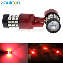 Zauleon 2pcs W21/5W 7443 T20 7440 W21W Red LED Brake Stop Light Bulbs Lighting Taillight rear Car Parking Lamp Lights(China)
