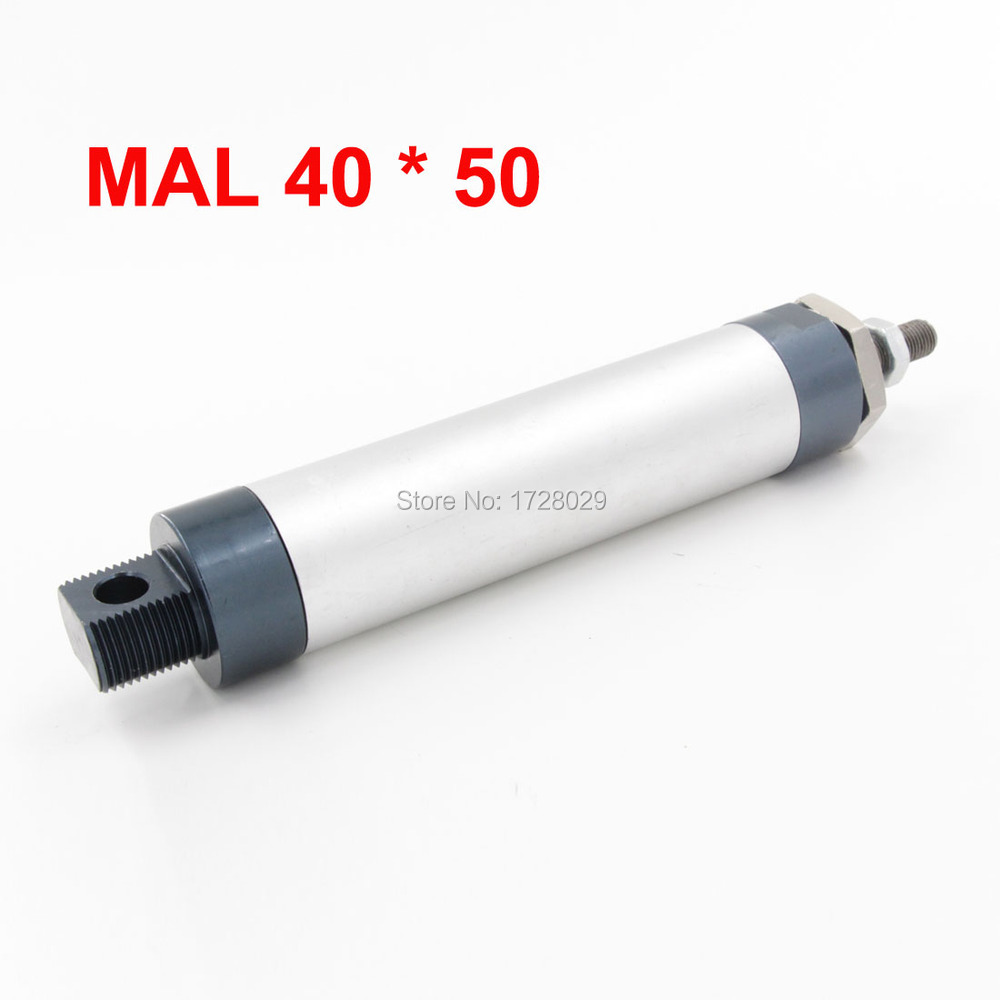 Standard Pneumatic MAL Series 40*50 Attached Magnet Mini Aluminum Alloy Air Cylinder<br><br>Aliexpress