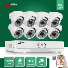 ANRAN 1800TVL 720P 48IR Waterproof Outdoor CCTV Security Camera System 8CH 1080N HD AHD DVR Video Surveillance System