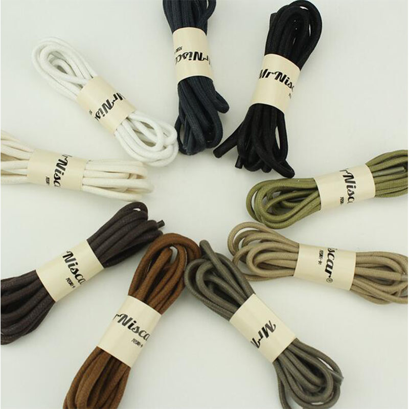 new style outdoor round crude climbing waxing shoelaces wear rough sport shoestrings leisure gentleman leather shoes lace ZZ162<br><br>Aliexpress