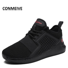2017 Newest Men Running Shoes Comfortable Sneakers  For Men Outdoor Men Breathable Lace-up Mesh  Sport Shoes hombre deportiva
