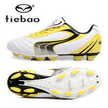 TIEBAO Professional Futebol Men Women's Soccer Shoes FG & HG Soles Sneakers Outdoor Football Boots Athletic Soccer Cleats