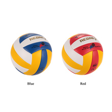 Official Size 5 PU Volleyball Soft Touch Volley Ball Indoor Outdoor Training Ball Match Beach Gym Game Ball Two Colors(China)