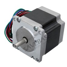 SAVEBASE CNC Router Lathe Nema 23 175 Oz-In Stepper Motor 2 Phase 2.8A 1.8 Degree 57x56mm(China)