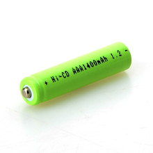 2pcs/lot AAA 1.2V 1400mAh Battery Efficient Energy Rechargeable Ni-CD 3A Neutral Battery for Controller Toys Electronic