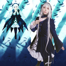 Sui gin tou Cosplay Rozen Maiden Mercury Lampe Cosplay Costume Tailor Made