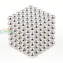 OMO Magnets 216pcs Super Magnet Diameter 5mm Silver Magnet Rare Earth Strong Power Magnets(China)