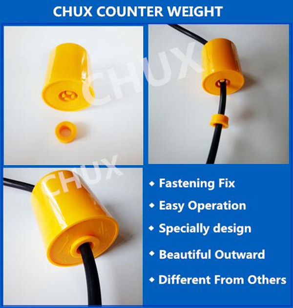 10m specially items water level sensor control liquid float switch  for Industry pump and tank Fluid Level Sensor (CX-M15-2)