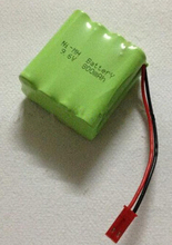Free shipping 9.6v AAA 800mAh NI-MH battery Rechargeable battery pack(China)