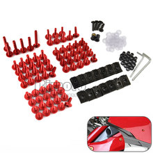 Fairing Bolts Kit Fastener Clips Screw Aluminium Sportbike Aftermarket For Honda CBR 600R 1000RR Aprilia RS 125 250 RSV Mille R