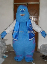Monsters University Sulley Mascot Head Costume school mascots cartoon character costumes costumes party free shipping