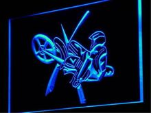 AU01 Motorcycle Show Jump Car Racing LED Neon Light Sign Wholesale Dropshippinghome decor shop crafts