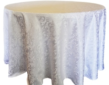 Round Tablecloth Fabric Polyester Tablecloths Jacquard Damask Wedding Table Cloth Gold Tablecloth Round Tablecloth For Party