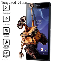 Buy GULYNN Premium Ultra Thin 9H Tempered Glass Film Explosion Proof Screen Protector Sony Xperia L1 Z2 Z3 XA Z5 compact M4 M5 for $1.08 in AliExpress store