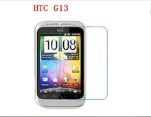6x Clear Glossy LCD Screen Protector Guard Cover Film Shield For HTC Wildfire S G13 A510e PG76110(China)