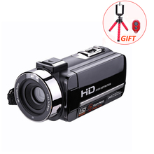 HD Digital Camera Video Recorder Camcorders 16X CMOS 3.0 inch Rotation Screen Reflex IR night vision with Remote Control(China)