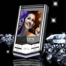 "Dropshipping 1.8"" TFT Screen Digital mini 8GB 32GB slim MP4 player MP3 music Player black Diamond x-mas Christmas Gift"
