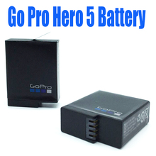 Gopro 5 battery Gopro hero 5 Rechargeable Replacement batteries for original Go Pro 5 gopro hero 5 camera AHDBT 501 AHDBT-501