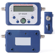 High Definition Digital LCD Displaying Satellite Finder SF-95DRL Satellite Signal Meter for Home Directv