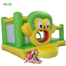 YARD Lovely Monkey Inflatable Bouncer Jumping Castle Inflatable Bounce House with Free PE Balls for Kids Gift(China)
