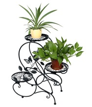 "HLC 3-tier Classic Plant Stand with Modern ""S"" Design(China)"