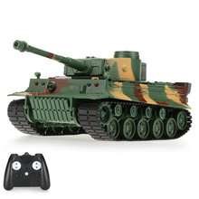 NO.3828-1 27MHz 1/26 Scale Infrared Fighting RC Battle Tank with Simulated Light Sound 320 D Turret Rotating Funcion