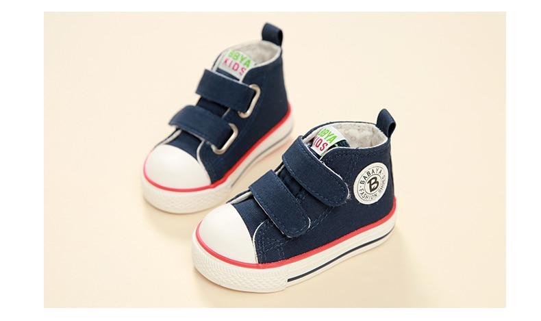 Enfants chaussures pour fille enfants toile chaussures garçons 32