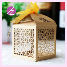 50pcs DIYsweet lovely Decoration Candy box paper boxes Gift box Rustic & Lace Favor Box With Ribbon Wedding Decoration Supplier(China)