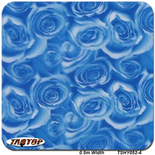 5Sqm TSY052-4 0.5M Width Transfer Film Water Transfer Printing Hydrographic Films Printing Hydrographics Blue Flower