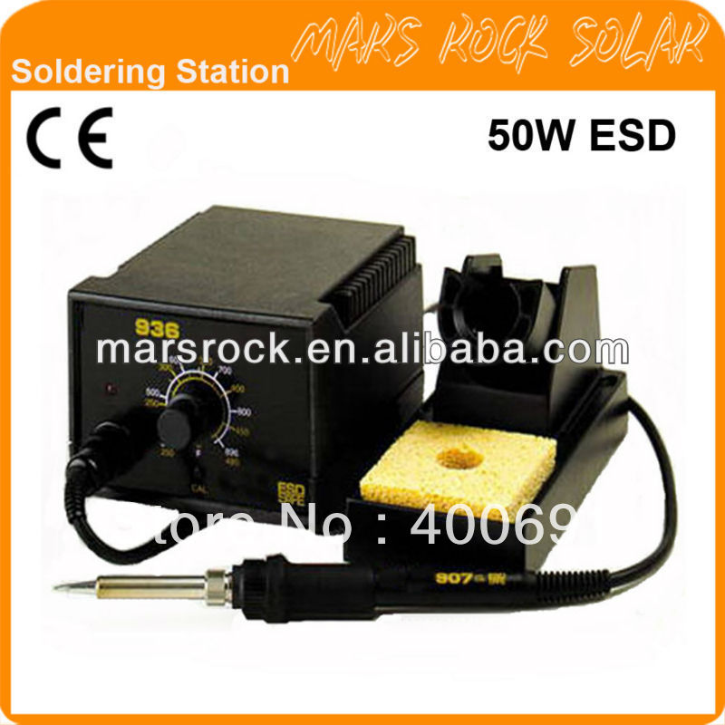 936B 50W CE Marked Anti-static Lead Free Soldering Station<br><br>Aliexpress