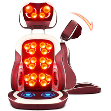 Free shipping RU Massage Chair Cushion Multifunction Body Neck Waist Back Massage Cushion Household Kidney Massager