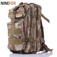 High quality 2016 Men Women  Military Army  Backpack Molle  Trekking Camouflage Bag Travel Backpack