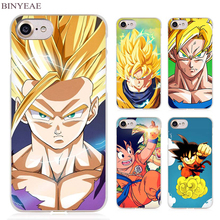 BINYEAE Dragon Ball Z Clear Cell Phone Case Cover for Apple iPhone 4 4s 5 5s SE 5c 6 6s 7 Plus(China)