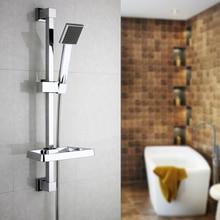 Superfaucet Bathroom Handheld Shower Slide Bar Hand Held Shower Bracket  Holder Chrome Plated Head Holder Sliding Bar HG 892