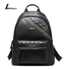 Women Beautiful Knapsack Pu Leather School Bags For Teenage Girls Mochilas Ladies High Quality Backpack Female Popular Rucksack
