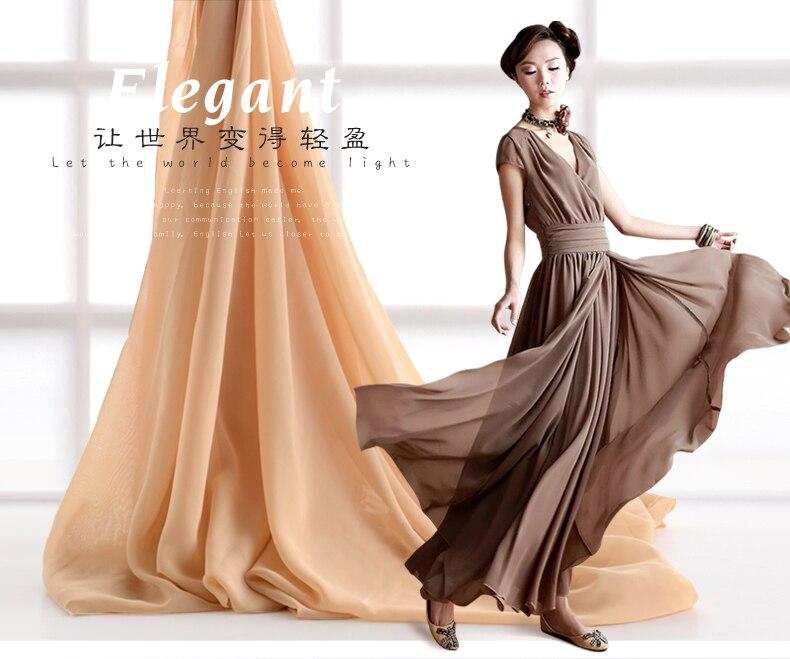 150cm 100cm Diy Chiffon Fabric Sheer Bridal Wedding Dress Lining