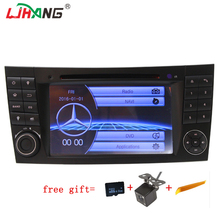 LJHANG Touch screen Car radio stereo player For Mercedes W211 W463 W219 W209 GPS Navigation SWC IPOD FM BT 8G SD card with map(China)