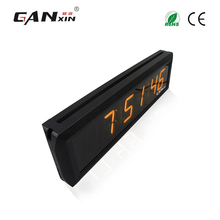 [Ganxin]Personal Designed 1.8'' Wall Mount Led Clock with Low Price
