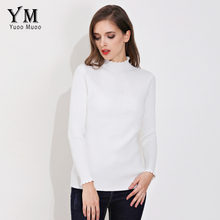YuooMuoo New High Quality Sweater Women Basic Autumn Turtleneck Cashmere Sweater Slim Thick Warm Winter Pullover(China)