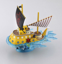 Japanese Anime Cartoon One Piece Trafalgar Law Death Surgeons Pirate Ship Submarine Model PVC Action Figures(China)