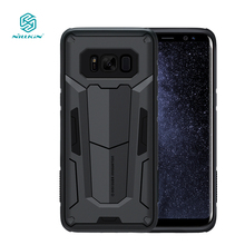 cover for samsung galaxy s8 case 5.8 inch Nillkin Defende 2nd Gen Tough Slim Cover s8 for samsung phone bags housing funda(China)