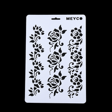 1Pc Flower Layering Stencils Painting Scrapbooking Album Embossing Paper Cards DIY Decorative Craft