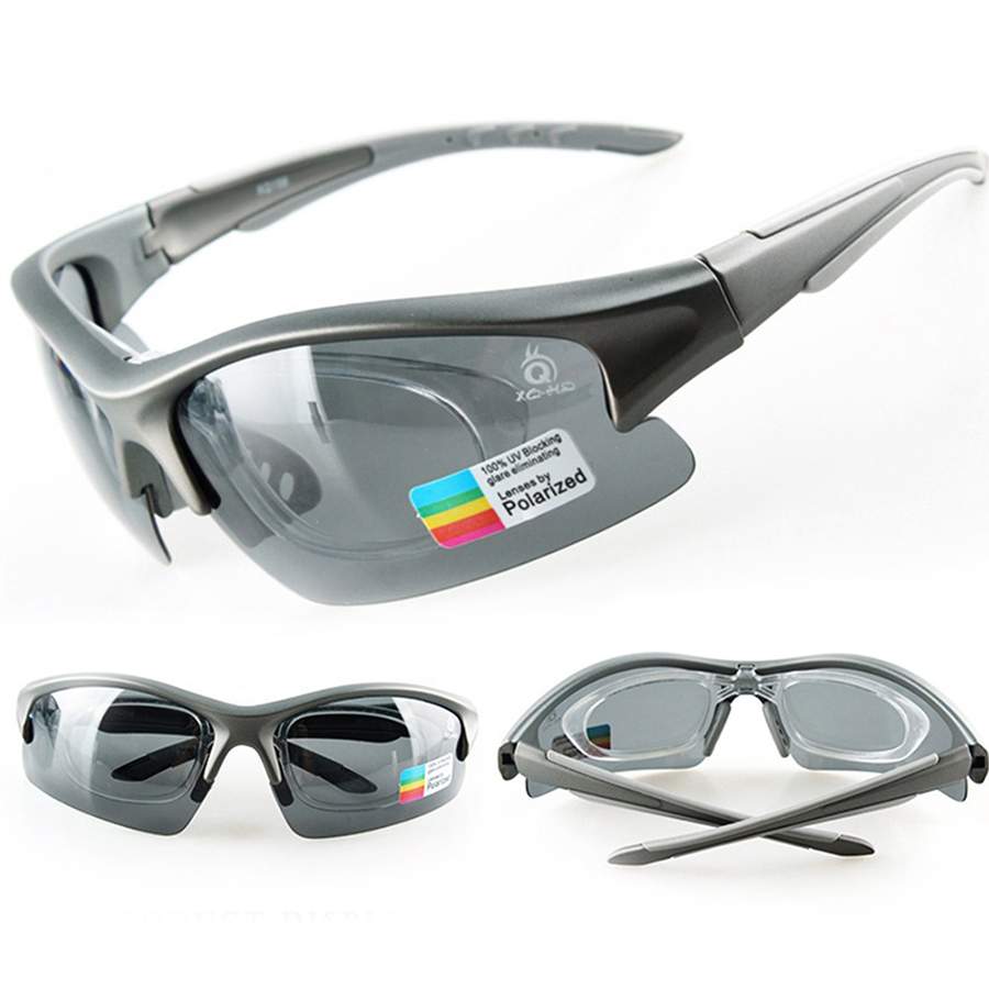 Hot Cycling Glasses Polarized TR90 UV400 With Myopia Frame Outdoor Sports Bike Sunglasses 5 Lens Protect Eyewear Goggles Unisex<br>