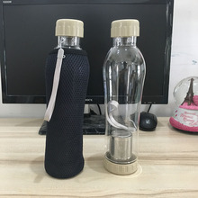 Large Capacity 700ml Creative New PC Water bottle with Tea filter(China)