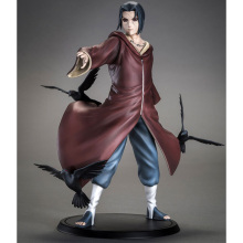 Naruto Uchiha Itachi 1/8 Scale Painted Figure Brinquedos Anime PVC Action Collectible Model Toys 17cm - Shop2954168 Store store