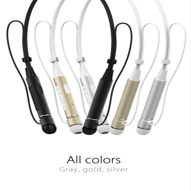 Bluetooth Headset Sport Earphone HIFI Stereo Calls Remind Headphone For Outdoor Running Gym