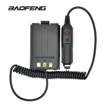 Baofeng Battery Eliminator Car Charger For Portable Radio UV 5R UV-5RB UV-5RA Two Way radio Walkie Talkie Accessories